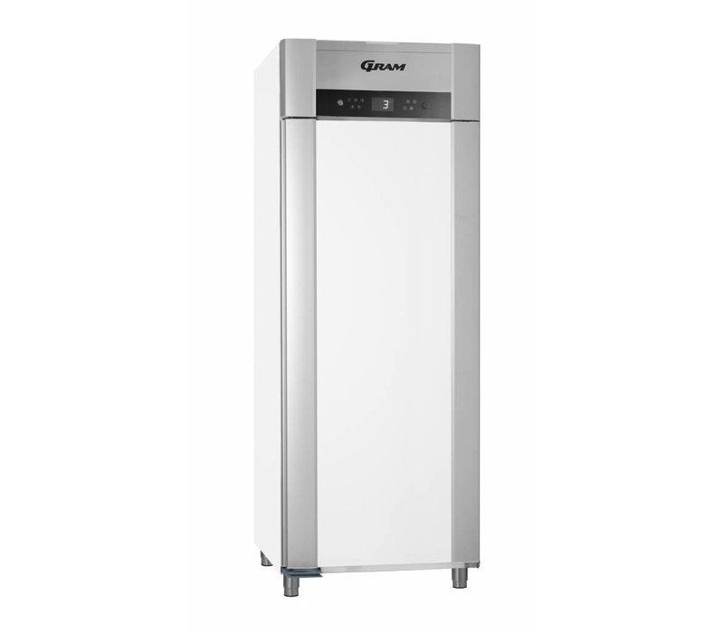Gram Horeca Kühlschrank Weiß | SUPERIOR TWIN 84 Gramm K LAG L2 4S | 614L | 840x785x2125 (h) mm