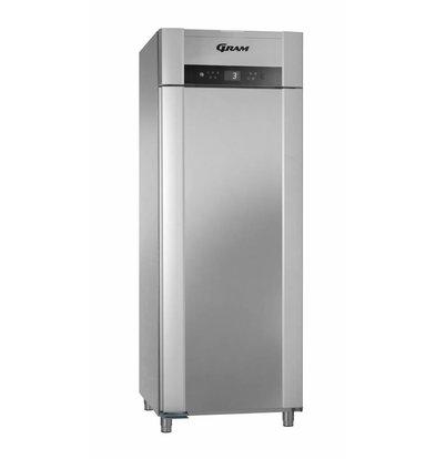 Gram Horeca Refrigerator Stainless Steel   SUPERIOR TWIN 84 grams K CCG L2 4S   614L   840x785x2125 (h) mm