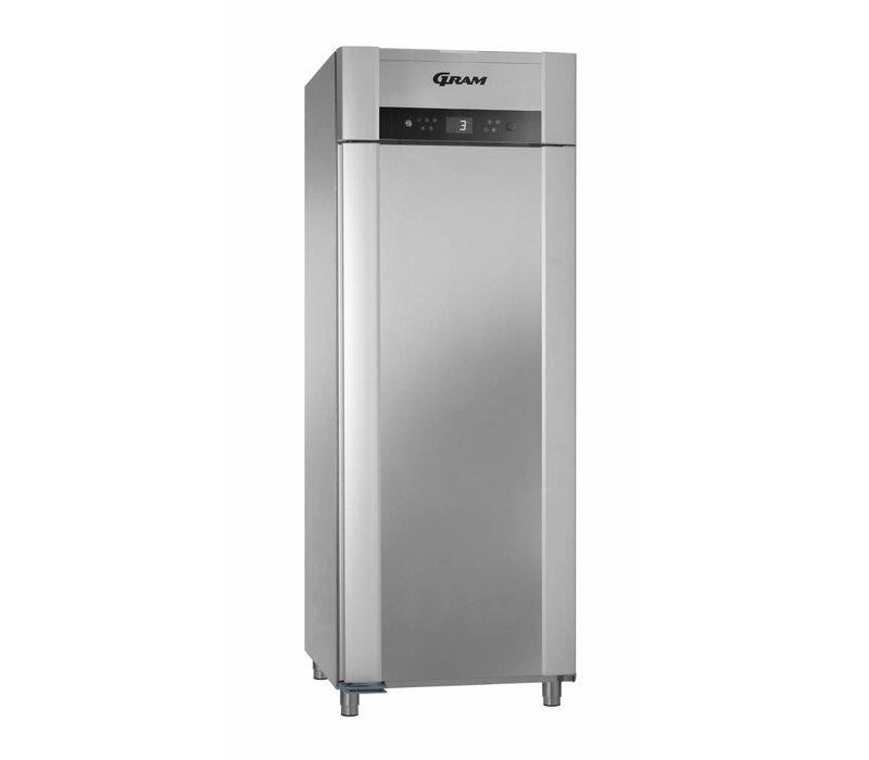 Gram Horeca Kühlschrank Edelstahl | SUPERIOR TWIN 84 Gramm K CCG L2 4S | 614L | 840x785x2125 (h) mm