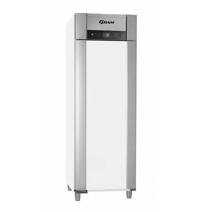 Gram Horeca Kühlschrank Weiß + Tiefe Kühlung | Gram SUPERIOR PLUS M 72 LCG L2 4S | 477L | 720x905x2125 (h) mm