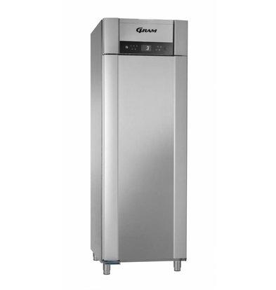 Gram Horeca Kühlschrank Edelstahl | Grams Superior Plus K 72 L CCG 4S | 477L | 720x905x2125 (h) mm | EIA