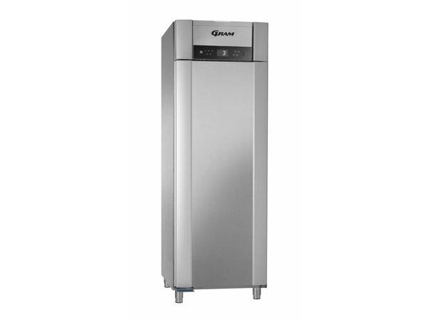 Gram Horeca Koelkast RVS   Gram Superior Plus K 72 CCG L 4S   477L   720x905x2125(h)mm   EIA