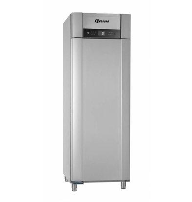 Gram Horeca Kühlschrank Vario Silber + Tiefe Kühlung | SUPERIOR PLUS M 72 Gramm RCG L2 4S | 477L | 720x905x2125 (h) mm