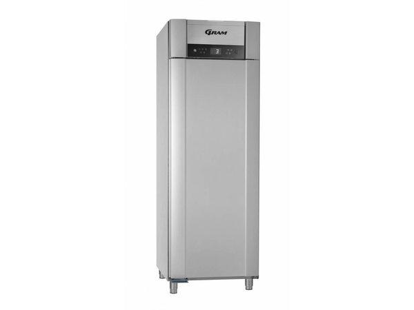 Gram Horeca Kühlschrank Vario Silber | Gram SUPERIOR PLUS K 72 RAG L 4S | 477L | 720x905x2125 (h) mm
