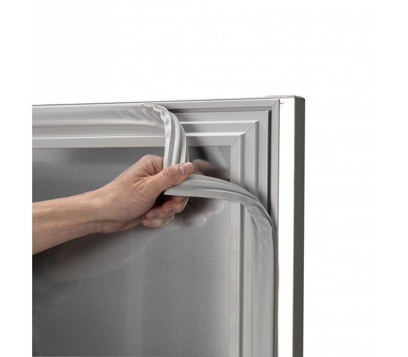 Gram Kühle Workbench SS - 4 Türen | Gram K2005 Schneeflocke | 495L | 2084X700X855 (h) mm