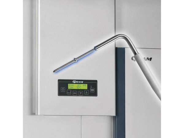 Gram Roll-in Snelkoeler/Vriezer Wit | Gram PROCESS KPS 180 SF LS B | 1800x1326x2235(h)mm