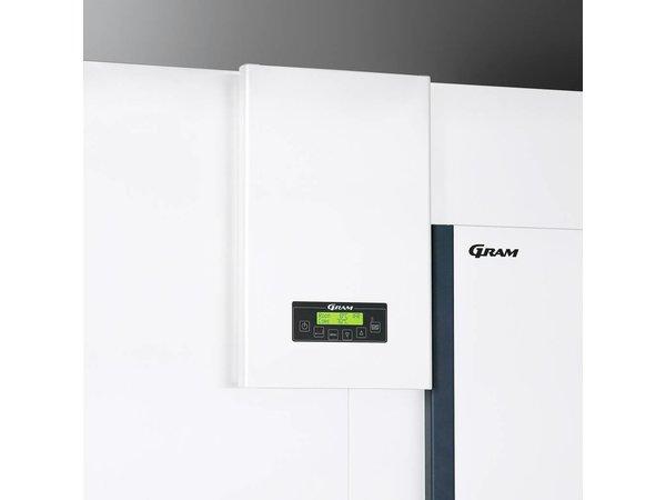Gram Roll-in Snelkoeler/Vriezer Wit   Gram PROCESS KPS 120 CF LS U   1500x1326x2235(h)mm