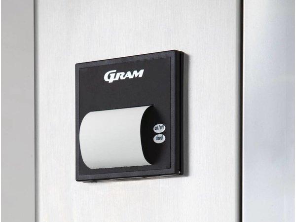 Gram Pet Schnellkühler / Gefrierschrank Edelstahl | Gram PROCESS KPS 60 CH | 780x995x2215 (h) mm