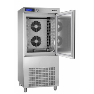 Gram Blast chiller / Freezer Stainless Steel | 10 x GN 1/1 or 40x60cm | Gram PROCESS KPS 42 SH | 800x830x1850 (h) mm