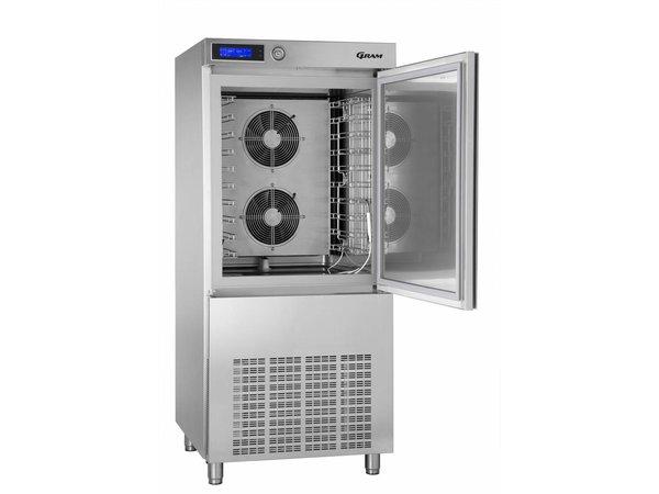 Gram Schnellkühler / Gefrierschrank Edelstahl | 10 x GN 1/1 oder 40x60cm | Gram PROCESS KPS 42 SH | 800x830x1850 (h) mm