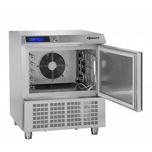 Gram Schnellkühler / Gefrierschrank Edelstahl | 5 x GN 1/1 oder 40x60cm | Gram PROCESS KPS 21 SH | 745x720x900 (h) mm