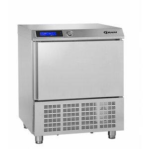 Gram Quick Cooler SS | 5 x 1/1 GN or 40x60cm | Gram PROCESS KPS 21 CH | 745x720x900 (h) mm