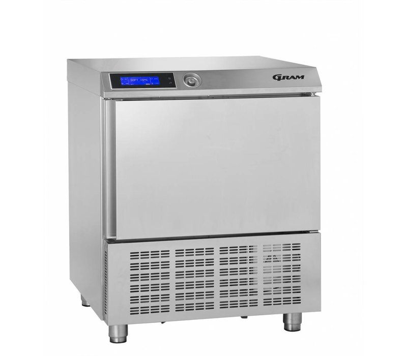 Gram Schnellkühler SS | 5 x 1/1 GN oder 40x60 cm | Gram PROCESS KPS 21 CH | 745x720x900 (h) mm
