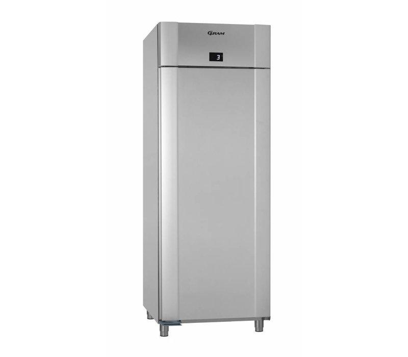 Gram Horeca Kühlschrank Vario Silber   Gram ECO TWIN K 82 RAG L2 4N   614L   820x785x2125 (h) mm