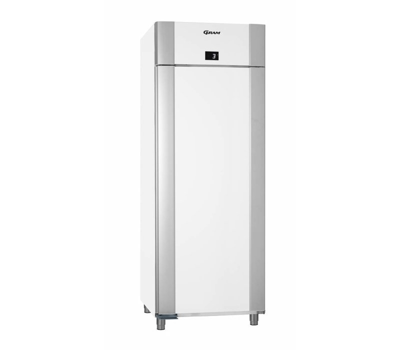 Gram Horeca Refrigerator White   Gram ECO TWIN K 82 LAG L2 4N   614L   820x785x2125 (h) mm
