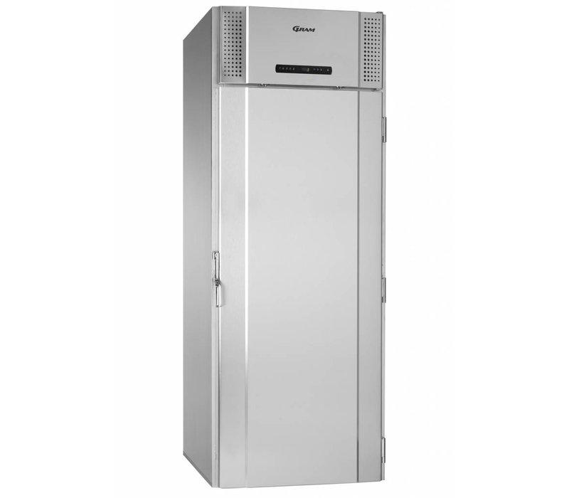 Gram Pet Kühlschrank Edelstahl   Gram PROCESS K 1500 CSG   1422L   880x1088x2330 (h) mm