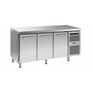 Gram Freeze-Workbench SS 3 Türen | Gram GASTRO 07 F 1807 CMH AD DL / DL / DR LM | 506L | 1726x700x884 (h) mm
