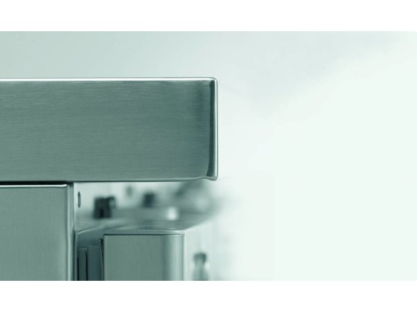 Gram Kühle Workbench SS | 3 Türen + 3 Schubladen | GASTRO 07 Gramm K 2207 CSG A DL / DL / DL / 3D L2 | 2163x700x885 / 950 (h) mm