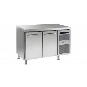 Gram Cool Workbench 2 Doors | GASTRO 07 grams K 1407 CMH AD DL / DR LM | 345L | 1289x700x884 (h) mm