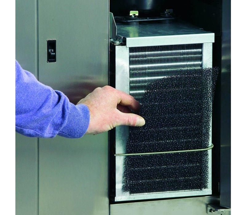 Gram Kühle Workbench 2 Türen | GASTRO 07 Gramm K 1407 CMH AD DL / DR LM | 345L | 1289x700x884 (h) mm