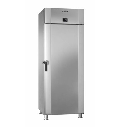 Gram Stainless steel refrigerator + Turn Closure | Gram MARINE ECO PLUS M 70 CCH 4M | 610L | 735x971x2125 (h) mm