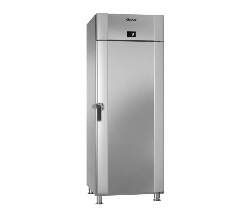 Gram Edelstahl Kühlschrank + Drehen Verschluss | Gram MARINE ECO PLUS M 70 CCH 4M | 610L | 735x971x2125 (h) mm