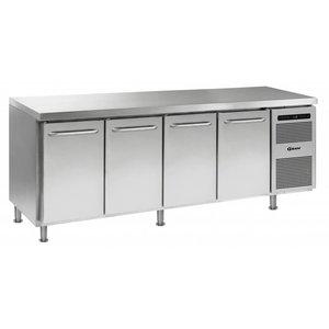 Gram Cool Workbench 4 Doors   GASTRO 07 grams K 2207 CMH AD DL / DL / DL / DR LM   668L   2163x700x884 (h) mm