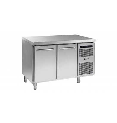Gram Freeze-Workbench 2 Türen | Gram GASTRO 07 F 1407 CSG A DL / DR L2 | 345L | 1289x700x885 / 950 (h) mm
