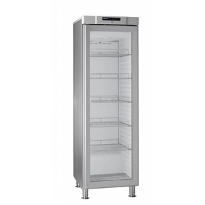 Gram Fridge with glass door | MARINE COMPACT KG 410 grams RH 60HZ LM 5M | 346L | 595x640x1905 (h) mm