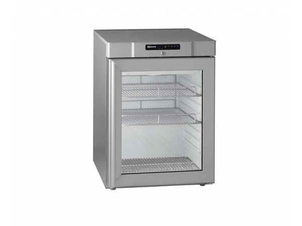 Gram Kühlschrank mit Glastür | MARINE COMPACT KG 210 Gramm RH 60 Hz 2M | 125L | 595x640x830 (h) mm