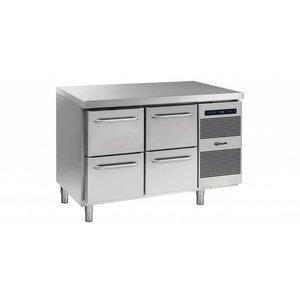 Gram Cool Workbench 4 Loading | GASTRO 07 grams K 1407 CSG A 2D / 2D L2 | 345L | 1289x700x885 / 950 (h) mm