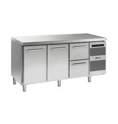 Gram Cool Workbench 2 Doors 2 + Laden | GASTRO 07 grams K 1807 CSG A DL / DL / 2D L2 | 506L | 1726x700x885 / 950 (h) mm