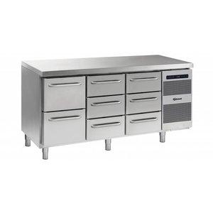 Gram Koelwerkbank 2+3+3 Laden | Gram GASTRO 07 K 1807 CSG A 2D/3D/3D L2 | 506L | 1726x700x885/950(h)mm