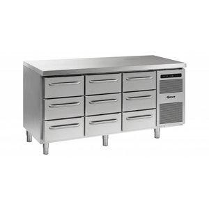 Gram Cool Workbench 3 + 3 + 3 Drawers | GASTRO 07 grams K 1807 CSG A 3D / 3D / 3D L2 | 506L | 1726x700x885 / 950 (h) mm