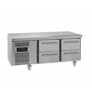 Gram Snack Counter RVS | 2x2 Laden | Gram GASTRO 07 KS 0-4H | 210L | 1397x700x680(h)mm