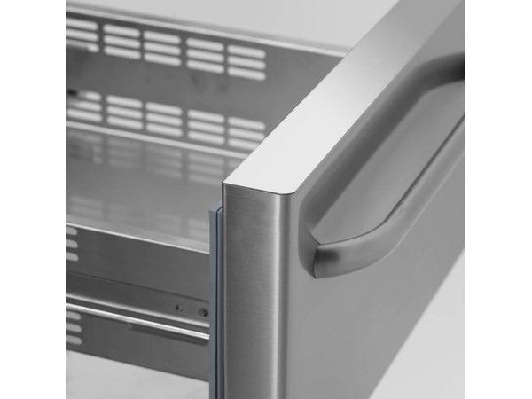 Gram Snack Counter RVS   3x2 Laden   Gram GASTRO 07 KS 0-6H   305L   1850x700x680(h)mm