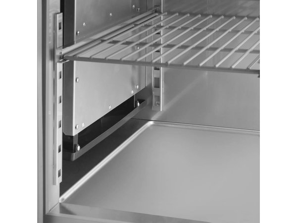 Gram Snack Zähler Edelstahl | 3x2 Loading | 07 Gramm GASTRO KS 0-6H | 305L | 1850x700x680 (h) mm