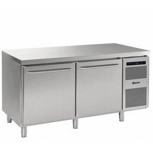Gram Freeze Workbench SS 2 Doors | Gram GASTRO 08 F 1808 CSG A DL DR L2 | 586L | 1698x800x885 / 950 (h) mm