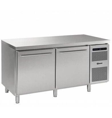 Gram Freeze-Workbench SS 2 Türen | Gram GASTRO 08 F 1808 CSG A DL DR L2 | 586L | 1698x800x885 / 950 (h) mm