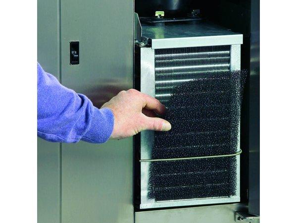 Gram Freeze Workbench SS 2 Doors   Gram GASTRO 08 F 1808 CSG A DL DR L2   586L   1698x800x885 / 950 (h) mm