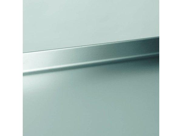 Gram Vrieswerkbank RVS 2 Deurs | Gram GASTRO 08 F 1808 CSG A DL DR L2 | 586L | 1698x800x885/950(h)mm