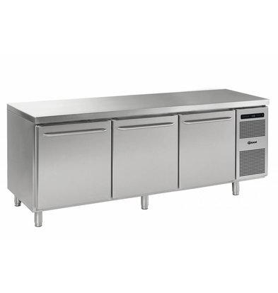 Gram Cool Workbench SS 3 Doors | GASTRO 08 grams K 2408 CSG A DL / DL / DR / L2 | 865L | 2340x800x885 / 950 (h) mm