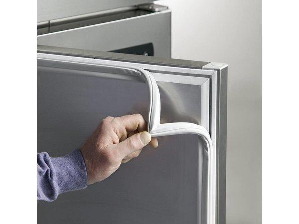 Gram Cool Workbench SS 3 Doors | GASTRO 08 grams K 2408 CSG A DL / DL / DR / L2 | 865L | 2340x800x885 / 950 (h) mm