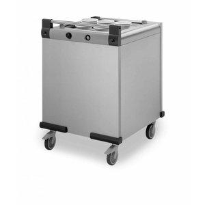 Mobile Containing Verrijdbare Stapelaar Verwarmd | Mobile Containing DFR 650/530 | Dienbladen 650x530mm