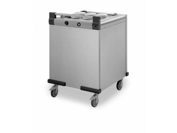 Mobile Containing Verrijdbare Stapelaar Verwarmd | Mobile Containing DFR 500/500 | Dienbladen 500x500mm