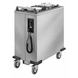 Mobile Containing Verrijdbare Stapelaar Verwarmd | Mobile Containing 2 THS-MS/G | Stapelunit op Maat Gemaakt