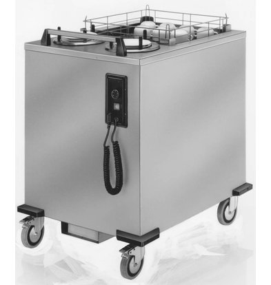 Mobile Containing Beheizte bewegliche Stacker   Mobil mit 2 Tsd-MS   Tabletts   Stapeleinheit Tailor Made