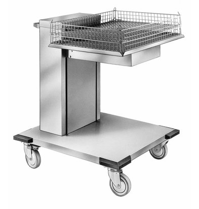 Mobile Containing Wheeled Stacker unheated | Mobile Containing OX-MS / B | Open Model | trays | Stack Unit Tailor Made