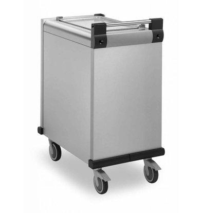 Mobile Containing Wheeled Stacker ungeheizten | Mobil mit einem Gehalt DFR 530/370 | Tabletts 530x370mm