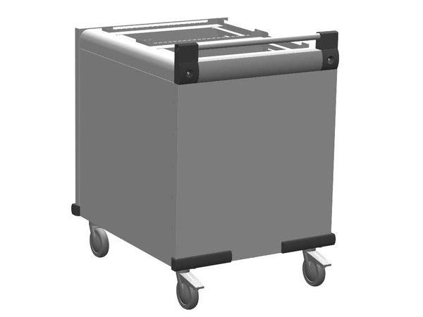 Mobile Containing Verrijdbare Stapelaar Onverwarmd | Mobile Containing DFR 2 x 530/370 | Dienbladen 2x 530x370mm